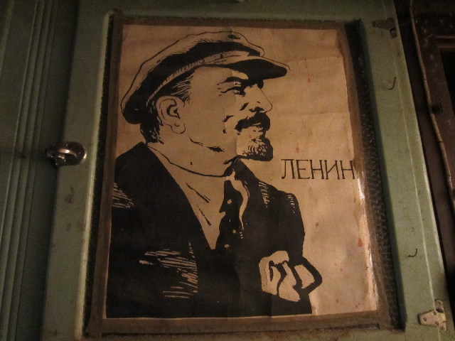 A poster of Lenin from early 20th century